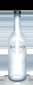 EAU de VIE 500ml Screw Top Bottle