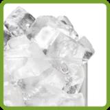 Full style cube ice