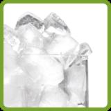 Half style cube ice