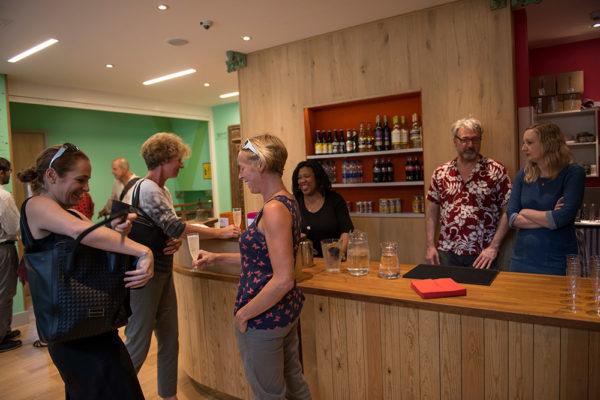 The Bar area at Tara Arts Theatre