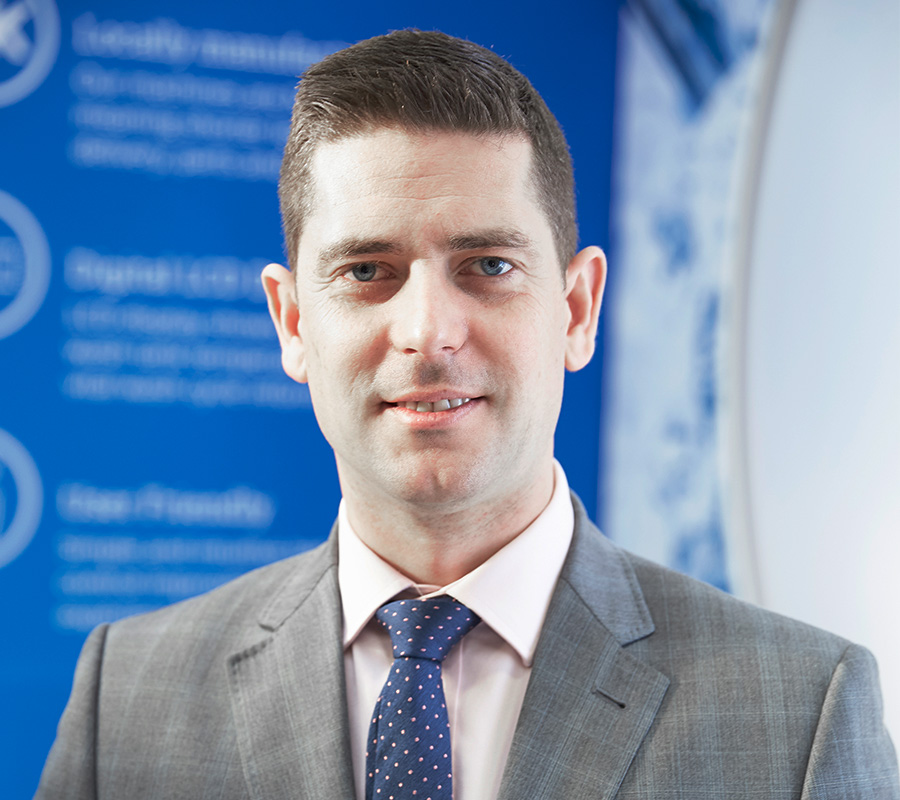 Edward Johnstone, Business Development Manager, Classeq UK Ltd
